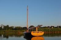 """""""Convent Bells"""" at rest - Georgica Pond, East Hampton, NY"""