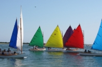 """Rainbow"" Fleet Parade - Nantucket, MA"
