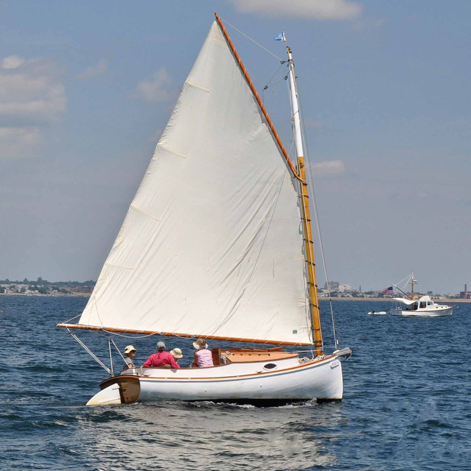 Boat Sales Cape Cod: 18′ Catboat For Sale, Year 1990 PRICE REDUCED!!!