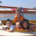 Kids Learn to Sail in Beetle Cat Sailboats
